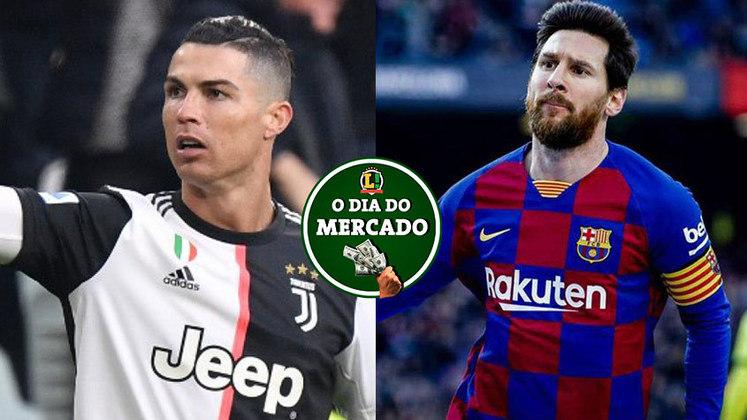 Cristiano Ronaldo está próximo de se acertar com a Juventus sobre o seu futuro no clube italiano, Messi tem veredito neste momento sobre a sua saída do Barcelona no final da temporada e muito mais! Veja o Dia do Mercado de quinta-feira. (por Redação São Paulo)