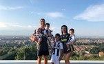 Cristiano Ronaldo, família, Juventus,