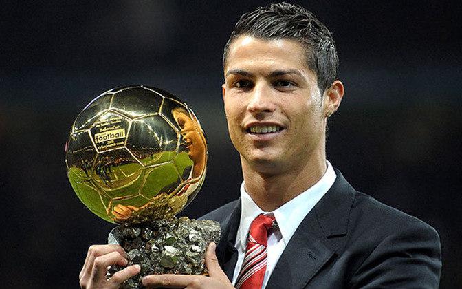 Cristiano Ronaldo havia conquistado apenas uma Bola de Ouro, em 2008.
