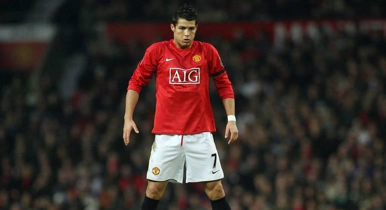Cristiano Ronaldo é anunciado pelo Manchester United
