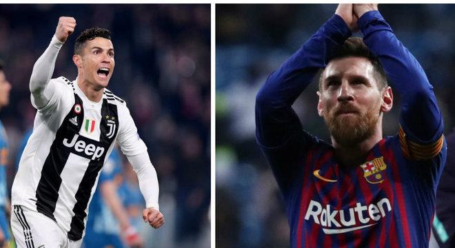 16cf22a0cf Até onde vai a disputa entre Cristiano Ronaldo e Messi  - Prisma ...