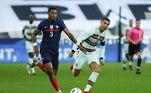 Atacante da Juventus participou do confronto contra a França, no último domingo, mas não estará no elenco para o duelo contra a Suécia nesta quarta-feira (14)