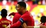 Foi o primeiro gol de Cristiano Ronaldo em Neuer, jogando por Portugal. Em clubes, CR7 já fez nove contra o alemão. Com seu gol neste sábado, ele se distanciou de Platini como o maior artilheiro da Euro, chegando aos 12. Maior artilheiro da seleção portuguesa, está a dois gols de se tornar o jogador que mais marcou gols por seleções na história. Contra os alemães, bem marcado, não encontrou muitos espaços, mas fez a jogada mais linda da partida, ao dar um chapéu em Rudiger, e antes de a bola tocar o chão, dar um passe de calcanhar, olhando para o outro lado, com um semblante provocativo