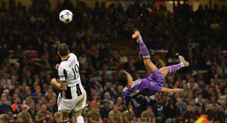 Futebol europeu surpreende com belas jogadas