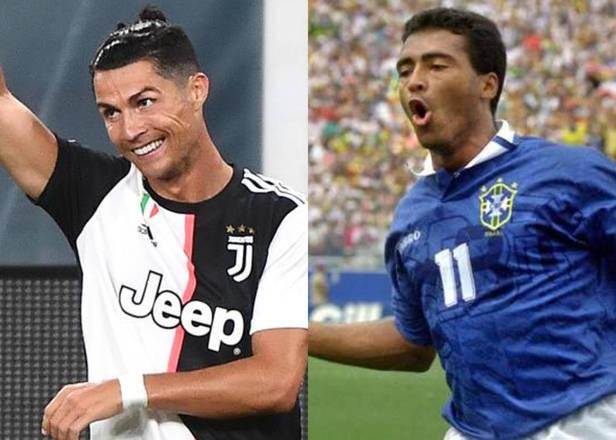 Cristiano Ronaldo é mesmo uma máquina de gols. Com o que fez marcado na vitória da Juventus para cima da Sampdoria, por 2 a 0, o português superou Romário no segundo lugar da lista dos maiores artilheiros da história do futebol. A vitória deu a Juve o título do Campeonato Italiano. Leia mais do jogo no blog Silvo Lancellotti