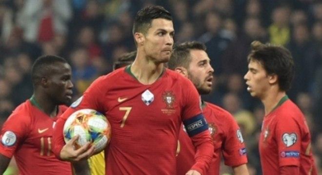 Cristiano Ronaldo - Ucrânia x Portugal