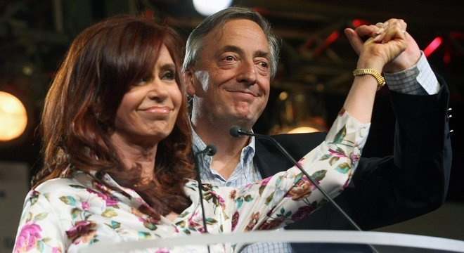 A palavra mais usada no livro de Cristina é Nestor, nome de seu marido e ex-presidente da Argentina, morto em 2010