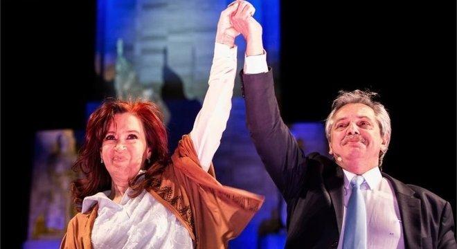 Cristina concorre como vice na chapa de Alberto Fernandez, que saiu vencedora das primárias realizadas neste domingo na Argentina