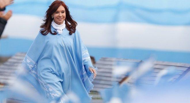 Cristina Kirchner, que já foi presidente da Argentina, dessa vez vai concorrer como vice em uma chapa com Alberto Fernández