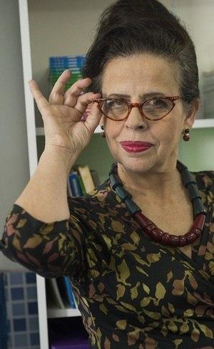 """Cristina Pereira, do elenco de """"Salve-se Quem Puder"""""""