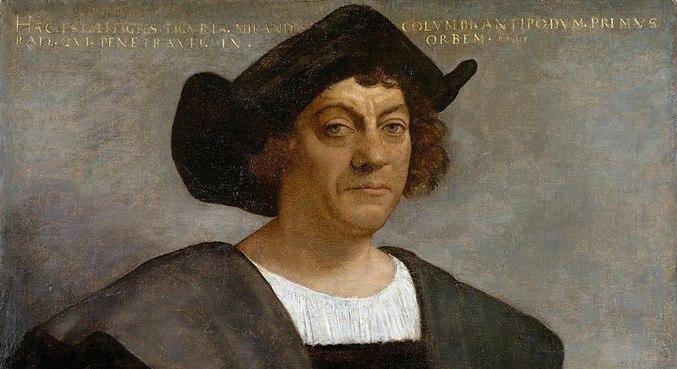 Provável retrato de Colombo feito por Sebastiano del Piombo em 1519