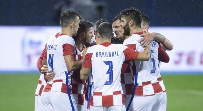 A celebração do triunfo da Croácia