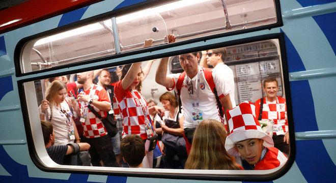 Croatas passaram a ser hostilizados depois de polêmica envolvendo Ucrânia