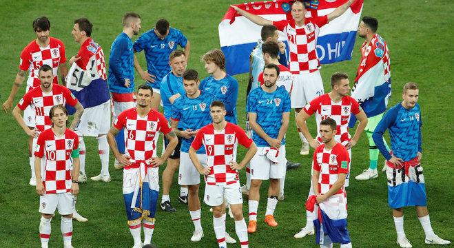 Croatas brigaram até o final, mas não foram páreo para franceses no Luzhniki