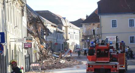 Criança morre após terremoto na Croácia