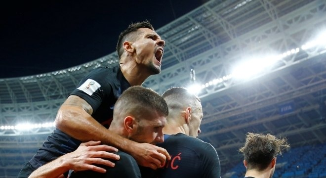 Seleção croata bateu a Inglaterra e chegou à final da Copa pela primeira vez na história