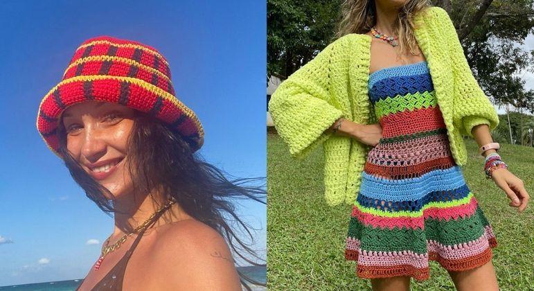 Crochê: saiba usar a tendência em looks do dia a dia