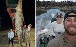 Um pescador da Flórida espancou e matou um crocodilo de cerca de 4 m que ele afirma que o