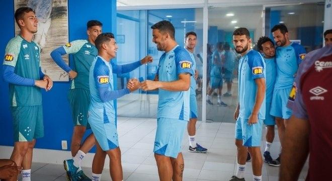 Cruzeiro se reapresentou nesta quinta (3) para a temporada 2019