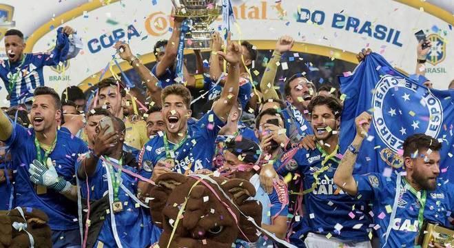 Cruzeiro, o campeão da Copa de 2017