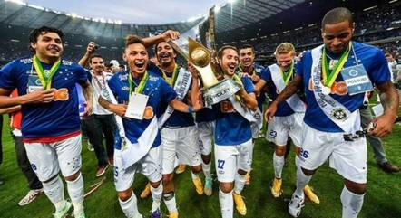 Cruzeiro acumulou oito títulos na década