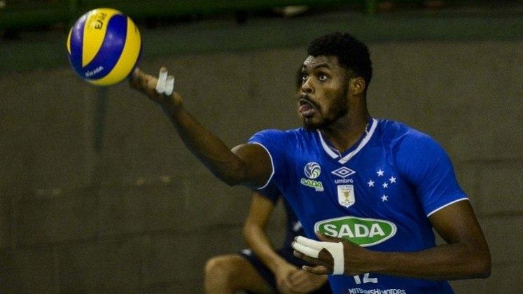 Cruzeiro: Alan – Vôlei, Fernando Cachopa – Vôlei e Isac – Vôlei (foto).