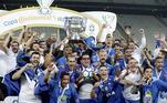 O Cruzeiro, maior campeão da Copa do Brasil, com seis conquistas, ocupa a quarta posição com mais 4 Campeonatos Brasileiros