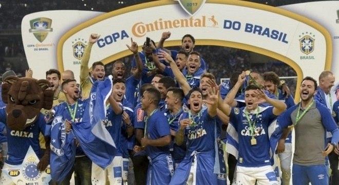 Cruzeiro passou por gigantes para faturar Copa do Brasil de 2017