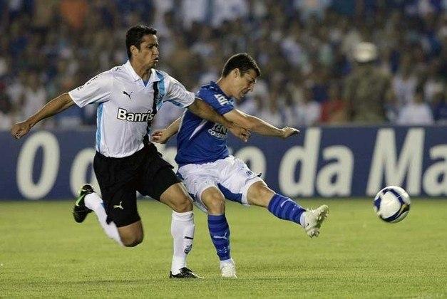 Cruzeiro - Em 2008, o Cruzeiro venceu o Vitória (0-2), Botafogo (1-0) e Santos (4-0). No fim, a equipe mineira terminou em terceiro lugar com 67 pontos na tabela do Brasileirão.