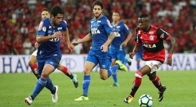 Cruzeiro e Flamengo decidiram a Copa do Brasil em 2017