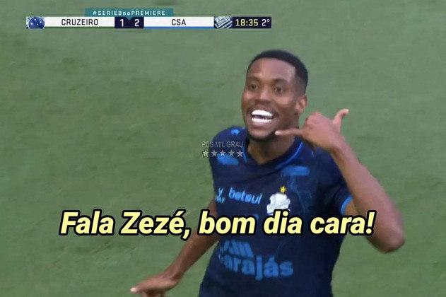 Cruzeiro foi derrotado por 2 a 1 pelo time alagoano e se complicou na Série B do Brasileirão. Em zoeiras, torcedores voltaram a lembrar do áudio de Thiago Neves para Zezé Perrella às vésperas do encontro entre os dois clubes em 2019. De lá para cá, o time mineiro não venceu o CSA. Veja alguns memes deste domingo! (Por Humor Esportivo)