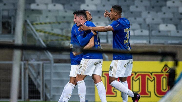 Cruzeiro: ganhou 3,76 milhões de reais por chegar até a terceira fase da Copa do Brasil