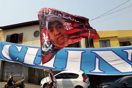 Torcida cruzeirense recepcionou organizada do Flamengo