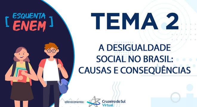 A desigualdade social no Brasil, suas causas e consequências