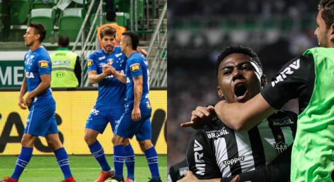 Cruzeiro e Atlético-MG se enfrentam no domingo, às 16h