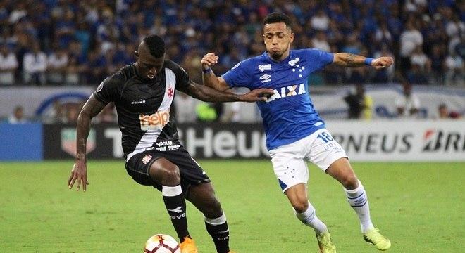 Vasco e Cruzeiro voltam a se enfrentam nesta quarta (2) pela Libertadores