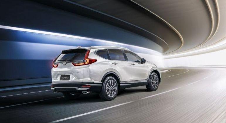 Honda equipa nova CR-V 2021 com teto-solar panorâmico