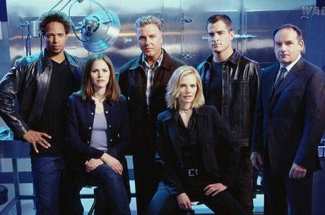 Poster oficial da série CSI: Las Vegas