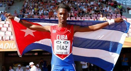 Jordan Díaz era a promessa de Cuba para os Jogos Olímpicos, mas, em busca de uma vida melhor, ele abandonou delegação cubana