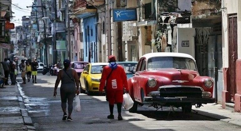 Rua de Havana, em Cuba