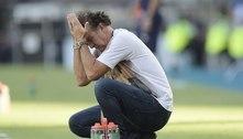 Expulsão, Grêmio, falta de dinheiro. Cuca dá adeus ao Santos