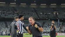 O Atlético superou o luto da Libertadores. E, quer, como nunca, o Brasileiro. Depois de 50 anos