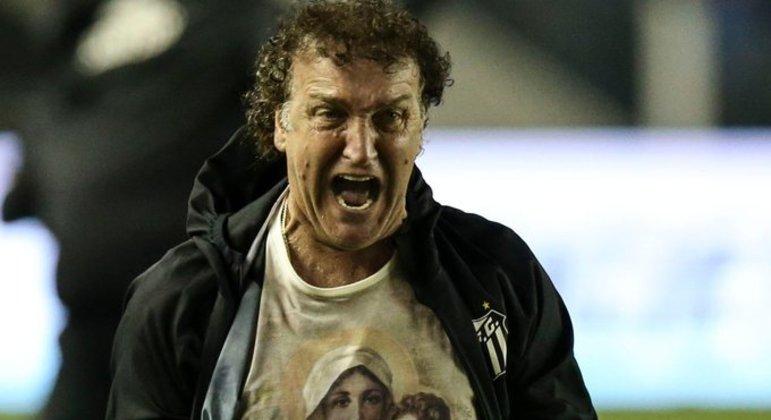 Cuca conseguiu levar o desacreditado Santos à final da Libertadores. Com futebol empolgante