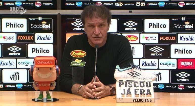 Cuca estava tratando o Palmeiras com o maior respeito. Rueda pôs tudo a perder