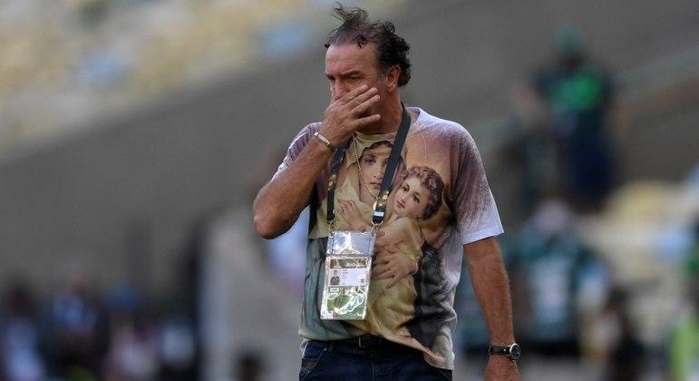 Cuca, o treinador do Santos