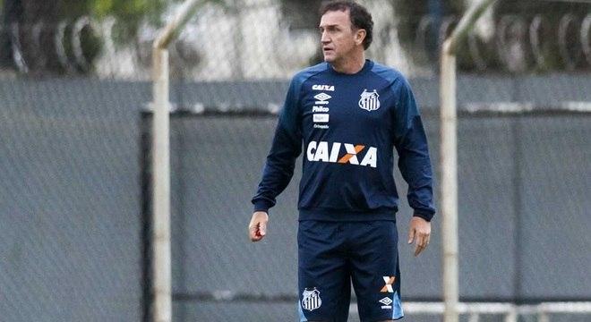Cuca volta para segunda passagem pelo Santos
