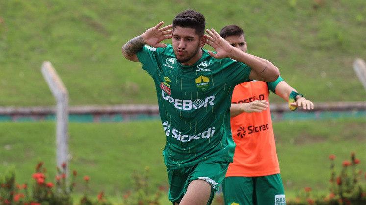 Cuiabá: 21 gols na temporada (Campeonato Mato-Grossense e Copa do Brasil)
