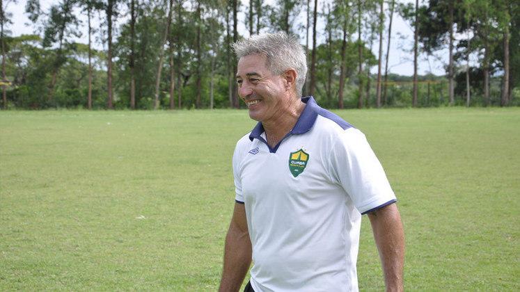 Cuiabá: Ary Marques – Técnico do acesso à Série C em 2011 somou 113 partidas pelo Dourado, que jogará a primeira divisão do Brasileirão em 2021.