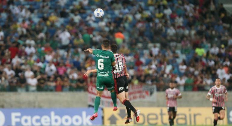 Cuiabá e São Paulo jogaram na noite desta segunda-feira (11), na Arena Pantanal