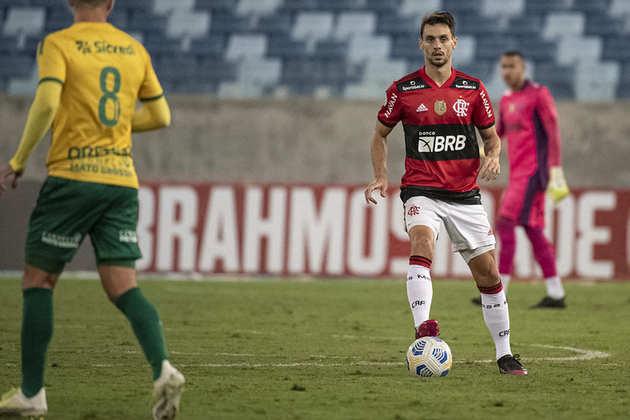 Cuiabá - SOBE: Clayson foi a principal arma ofensiva da equipe e criou grande jogada no início do segundo tempo.   DESCE: Mesmo crescendo de produção no segundo tempo, a equipe teve muitas dificuldades para concluir as jogadas e levar perigo ao gol do Flamengo.